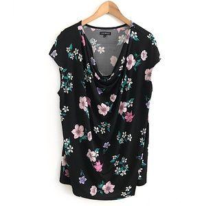Lane Bryant floral top blouse shirt size 18-20